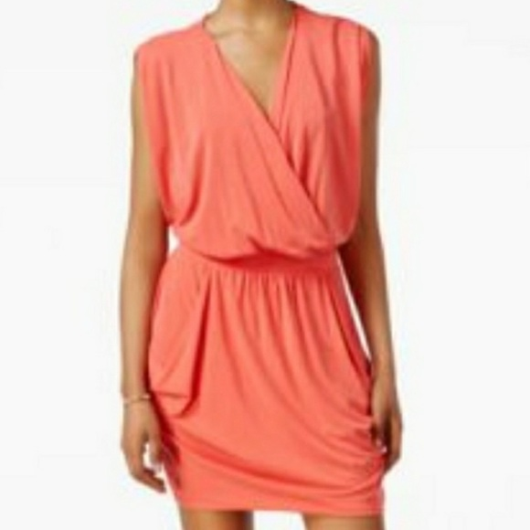 RACHEL Rachel Roy Dresses & Skirts - RACHEL Roy 24 Hour Dress Sleeveless Coral NWT Sz S